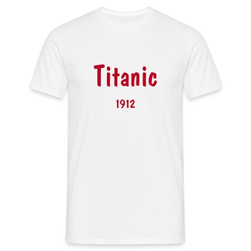 Titanic t-shirt - Men's T-Shirt