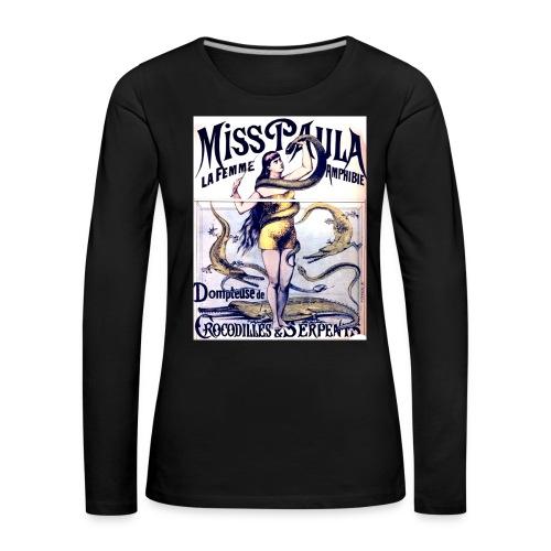Miss Paula - Frauen Premium Langarmshirt