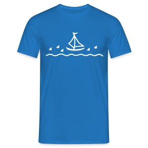Zen sailboat HW LMV TM - T-shirt Homme