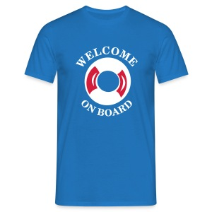 welcome  aboard HW LMV TM - T-shirt Homme