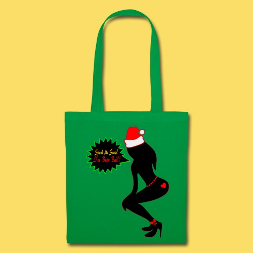 ♥ټSpank Me Santa, I've been Bad Tote Bagټ♥ - Tote Bag
