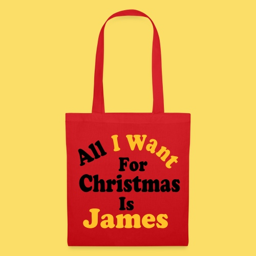 ↷♥All I want for Christmas is James Tote bag♥↶ - Tote Bag