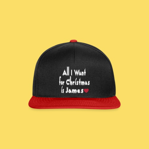 ↷♥All I want for Christmas is James Snapback Cap♥↶ - Snapback Cap