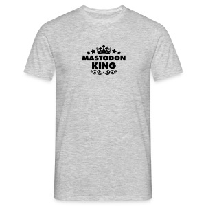 mastodon king 2015 - Men's T-Shirt