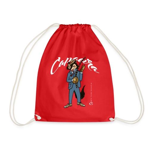 Sacola de Capoeira: O Malandro - Drawstring Bag