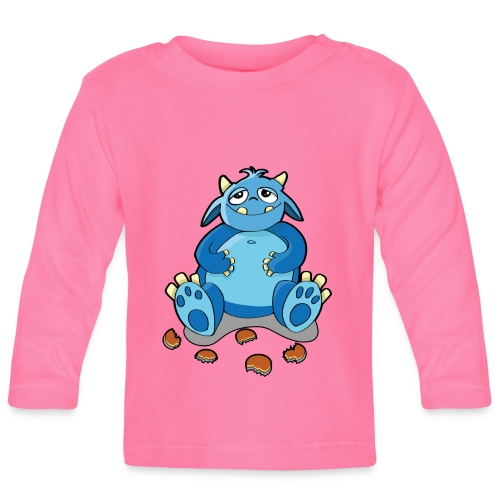 Cookie Monster - Baby Long Sleeve T-Shirt