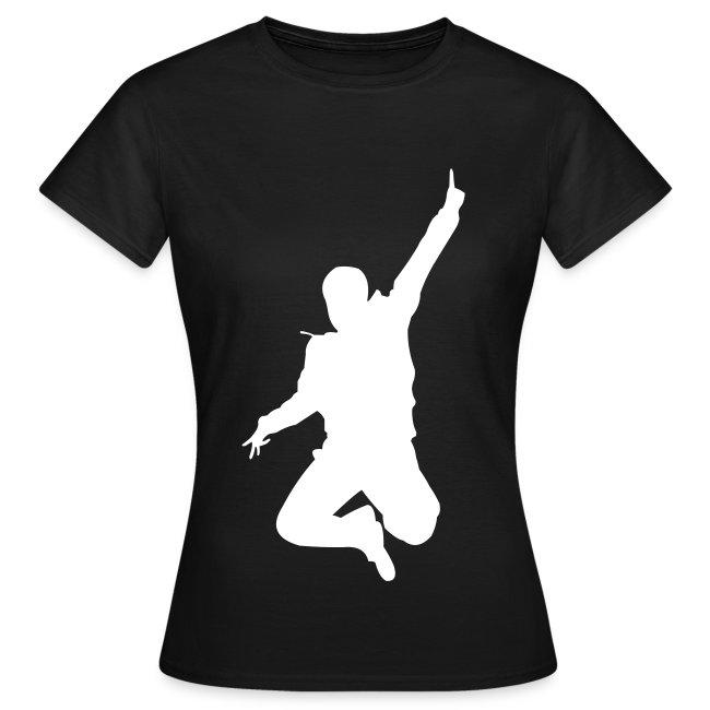 Jumping Man Front - Woman Shirt