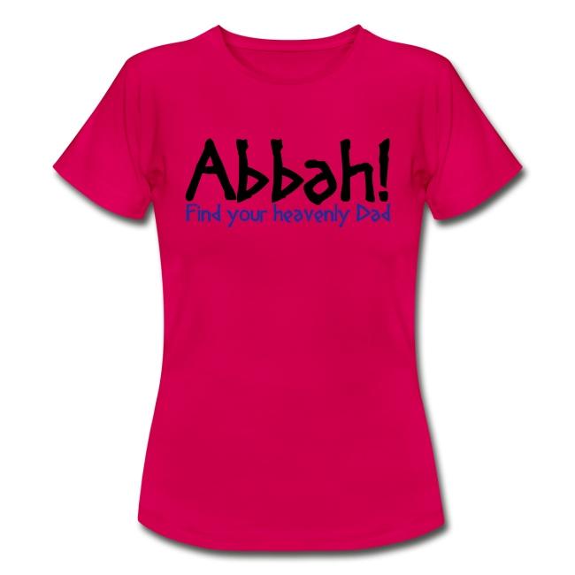 Abbah Schriftzug Front - Woman T-Shirt