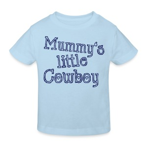 Mummy's little Cowboy - Kinder Bio-T-Shirt