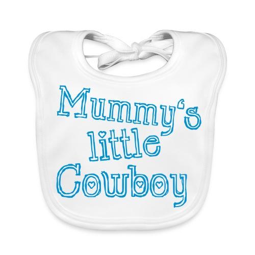 Mummy's little Cowboy - Baby Bio-Lätzchen