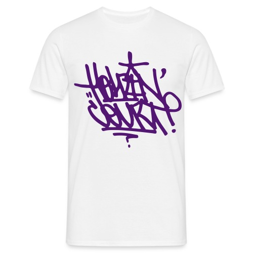 Oliver Sudden Tag Tee (Purple) - Men's T-Shirt