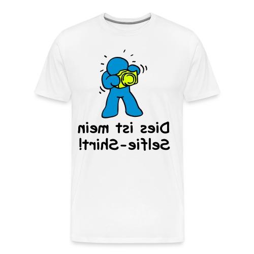 Dies ist mein Selfie-Shirt! - Männer Premium T-Shirt