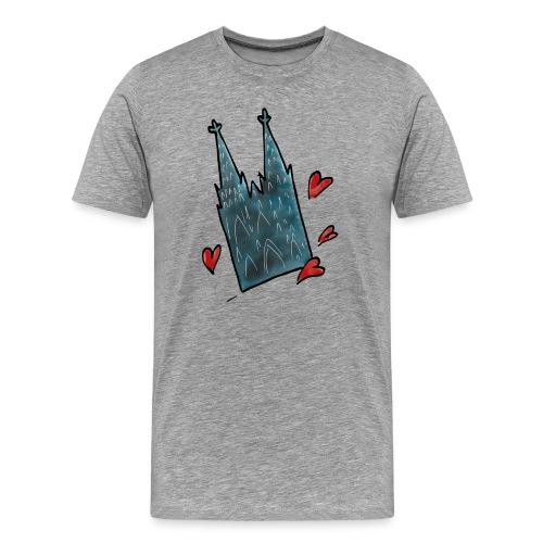 Kölner Dom Männer - Männer Premium T-Shirt