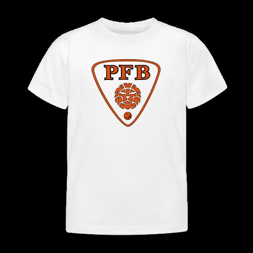 Tee-shirt ENFANT - BLANC - PFB - T-shirt Enfant