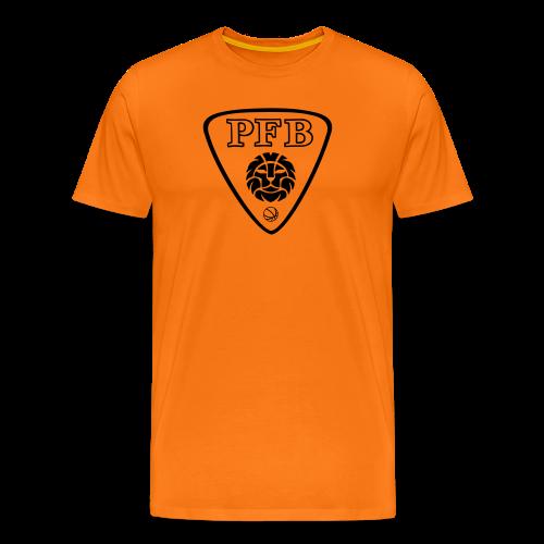 Tee-shirt Premium HOMME - ORANGE - PFB - T-shirt Premium Homme