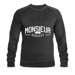 Monsieur-badasse ustache Sweat-shirts - Sweat-shirt Homme Stanley & Stella