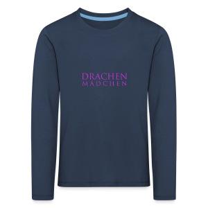 Drachenmädchen Kinder Langarmshirt - Kinder Premium Langarmshirt