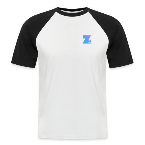 114 : white/black - Men's Baseball T-Shirt
