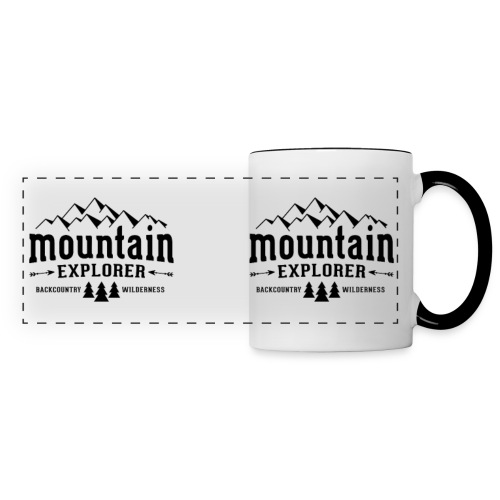 Mountain Explorer Tasse - Panoramatasse