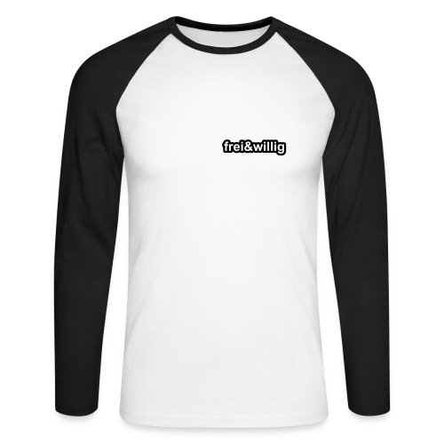 Rosapark Longsleeve - Männer Baseballshirt langarm