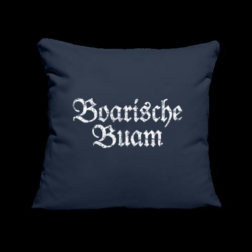 Boarische Buam (Vintage/Weiß) Kissenbezug - Sofakissenbezug 44 x 44 cm