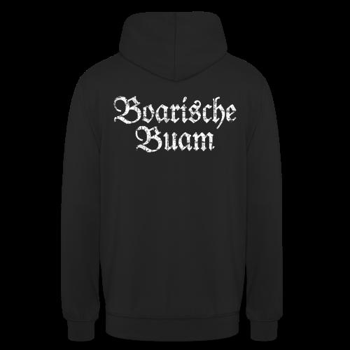 Boarische Buam (Vintage/Weiß) Hoodie - Unisex Hoodie