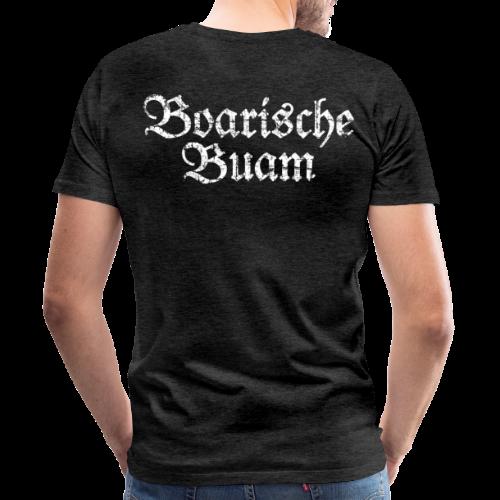 Boarische Buam (Vintage/Weiß) S-5XL T-Shirt - Männer Premium T-Shirt