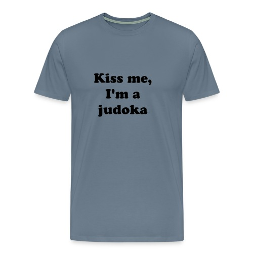 Kiss me - men t-shirt - Premium T-skjorte for menn