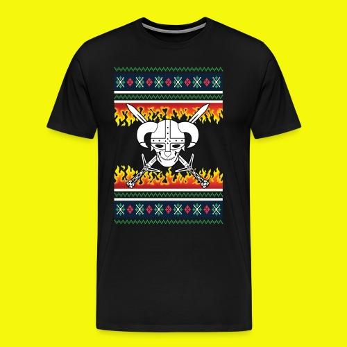 Ugly-Christmas-Viking - Männer Premium T-Shirt
