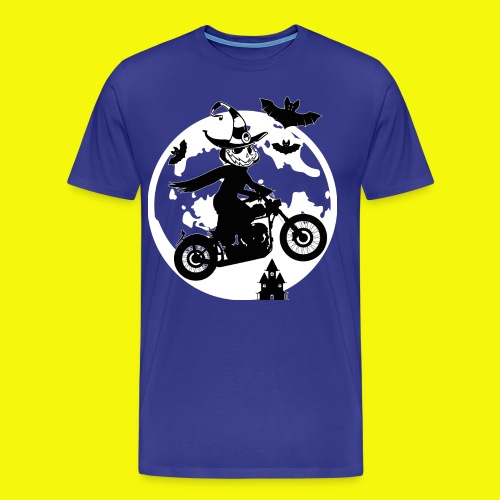 Creepy Halloween Rider - Männer Premium T-Shirt