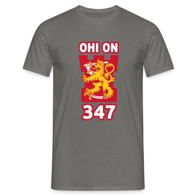 Ohi on 347 t-paita