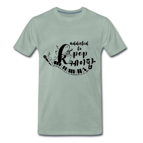 Addicted to KPOP Men's Premium T-Shirt - Men's Premium T-Shirt