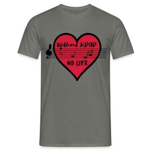 Without KPOP no life Men's T-Shirt - Men's T-Shirt