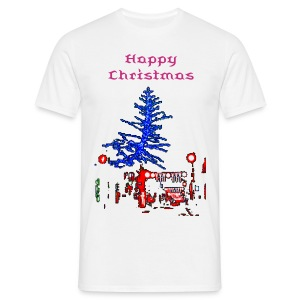 Happy #Brexit Christmas - Men's T-Shirt