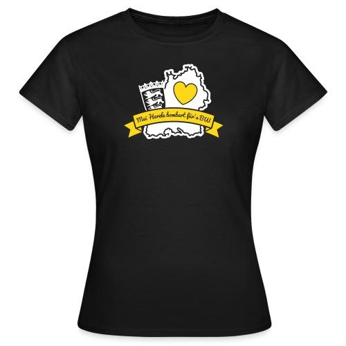 Herzle BW - Frauen T-Shirt