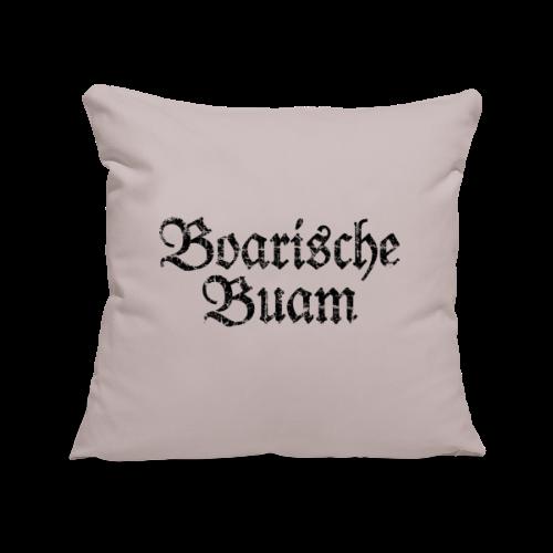 Boarische Buam (Vintage/Schwarz) Kissenbezug - Sofakissenbezug 44 x 44 cm