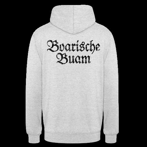 Boarische Buam (Vintage/Schwarz) Hoodie - Unisex Hoodie