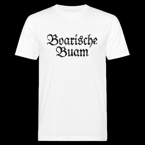 Boarische Buam (Vintage/Schwarz) Bio T-Shirt - Männer Bio-T-Shirt