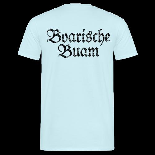 Boarische Buam (Vintage/Schwarz) T-Shirt - Männer T-Shirt