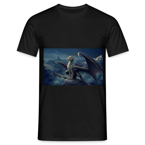 Dark Dragon - Men's T-Shirt