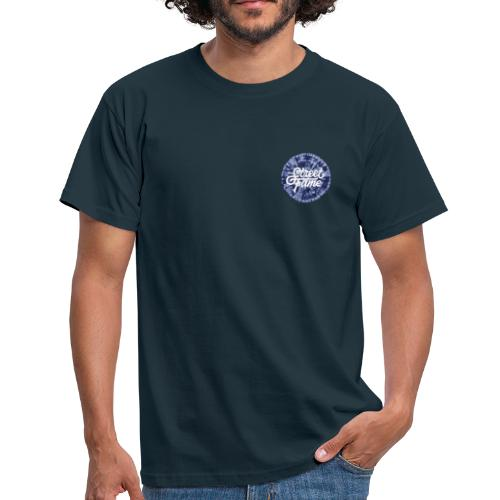 SF Tie Dye / Navy / Front + Back Print - Männer T-Shirt