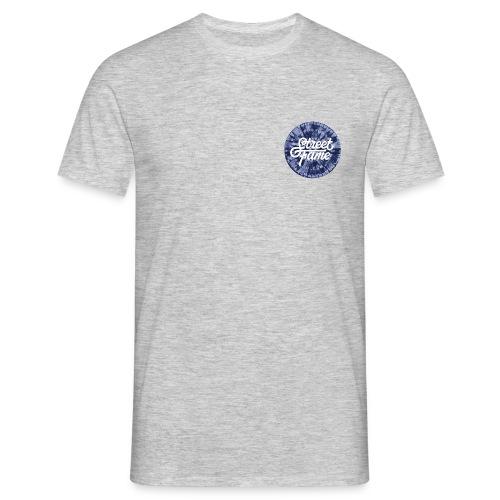 SF Tie Dye / Grey / Front + Back Print - Männer T-Shirt