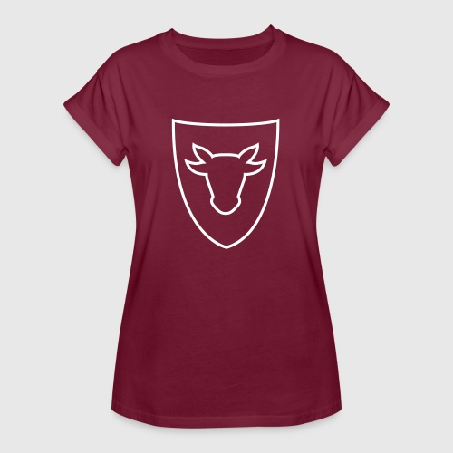 Damen Oversize Shirt – Ochsenwappen - Frauen Oversize T-Shirt