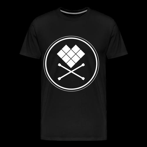 Mens T-Shirt Just skull dark - Men's Premium T-Shirt