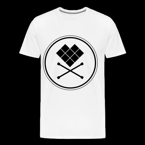 Mens T-Shirt Just skull bright - Men's Premium T-Shirt