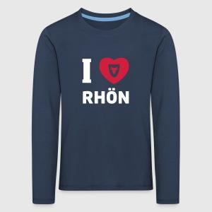 Langarmshirt Kinder – I love Rhön - Kinder Premium Langarmshirt