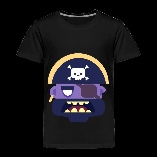 Captain Zed - Børne premium T-shirt