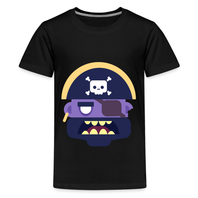 Captain Zed - Teenager premium T-shirt
