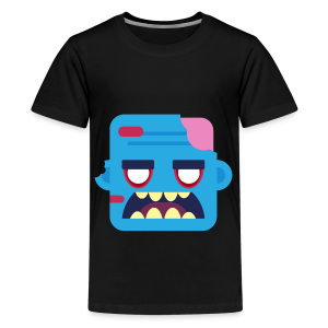 Zombob - Teenager premium T-shirt - Teenager premium T-shirt