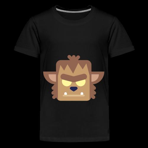Werewolf - Teenager premium T-shirt - Teenager premium T-shirt